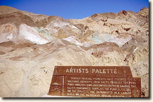 Death Valley NP: Artists Palette