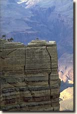 Foto Grand Canyon NP: Detail in der Weite