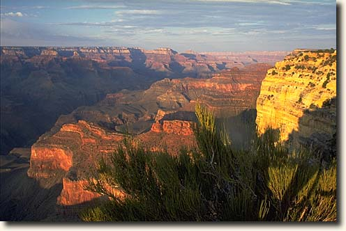 Foto der Abendstimmung vom Hopi Point im Grand Canyon National Park
