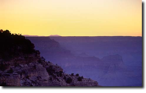 Grand Canyon NP: Blick vom Walhalla Overlook