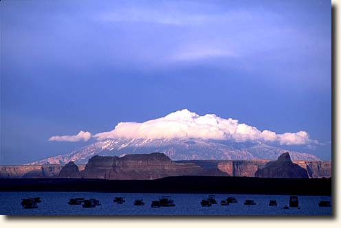 Page und Lake Powell: Lake Powell und Navajo Mountain