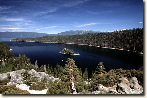 Lake Tahoe: Emerald Bay