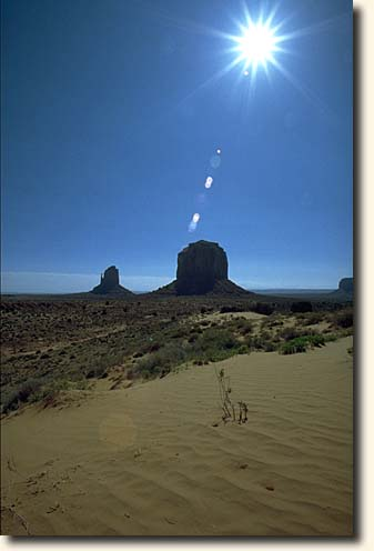 Monument Valley NTP: Monument Valley und Buttes