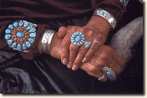 Türkis schmuck  Photogalerie mit Reisebeschreibung zum Monument Valley Navajo ...