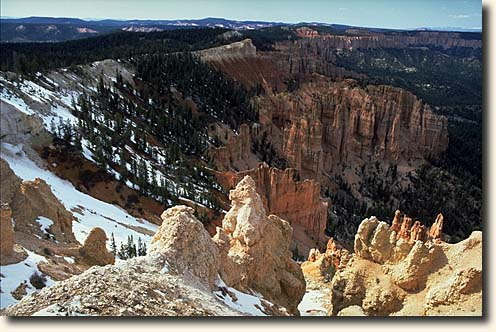 Bryce Canyon NP: Rainbow Point