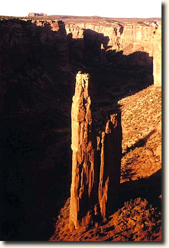 Canyon de Chelly  NM: Spider Rock