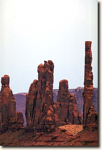 Monument Valley NTP: Totem Pole und Yei-Bi-Chei