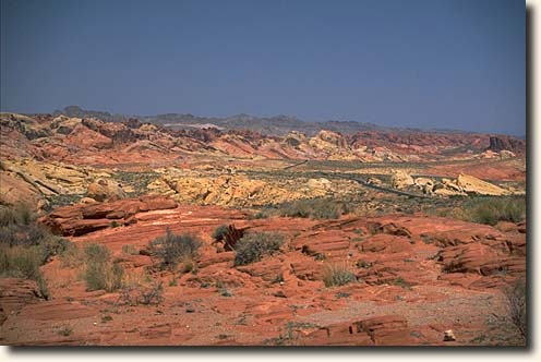 Valley of Fire SP: Rainbow Vista