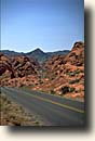 Valley of Fire SP : Parkroad